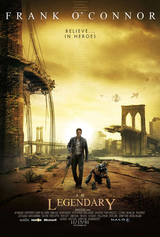 Я - легенда! / I Am Legend (2007) DVDRip
